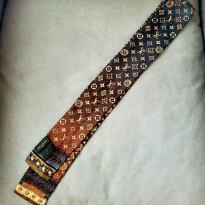 Louis Vuitton Skinny Silk Ombre scarf